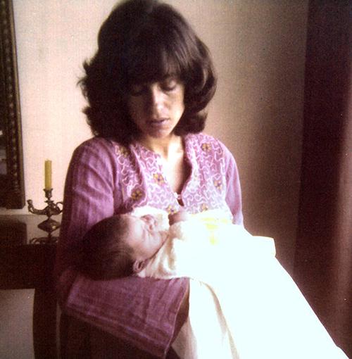 Nacimiento de mi primer hijo, Gastón Miguel, 1975.
