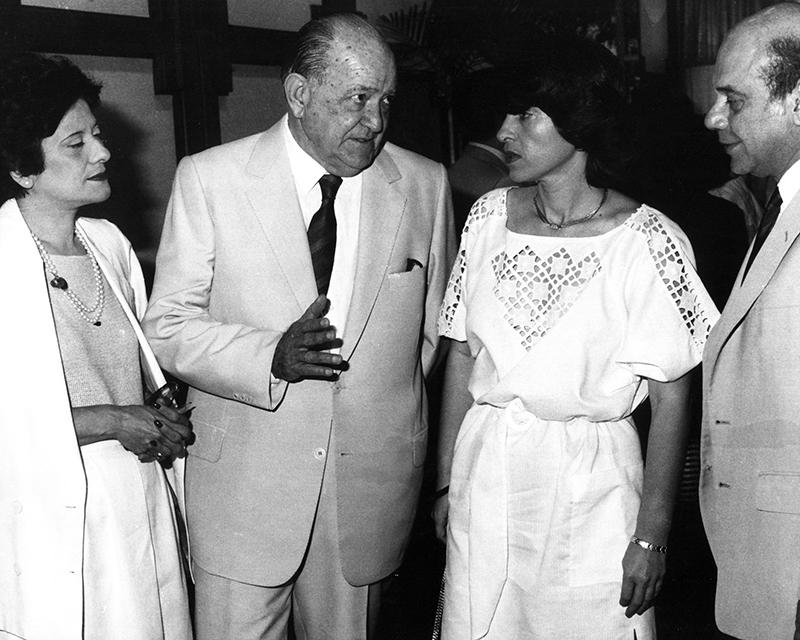Premio de cuentos de El Nacional con Miguel Otero Silva, Mercedes Baumeister y Gastón Carvallo, 1984.