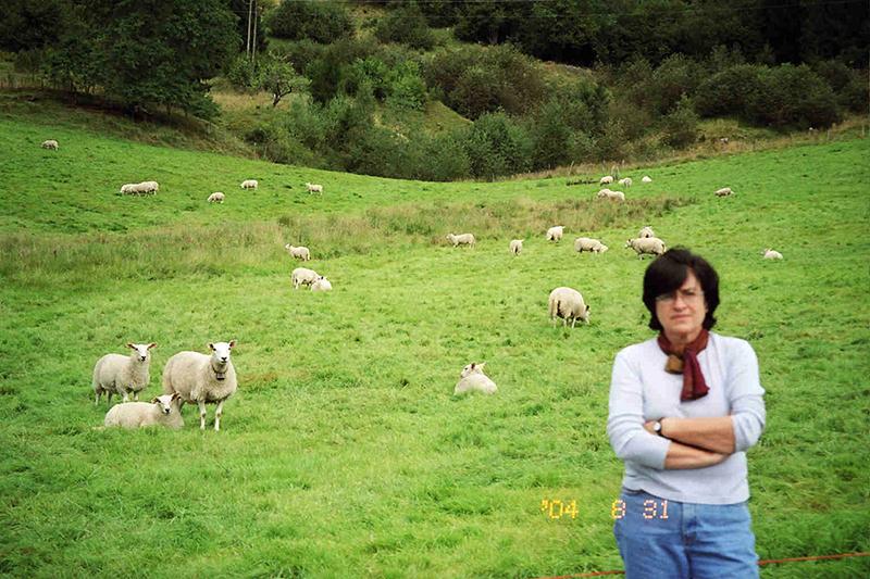 En Noruega para el congreso del Pen, 2004