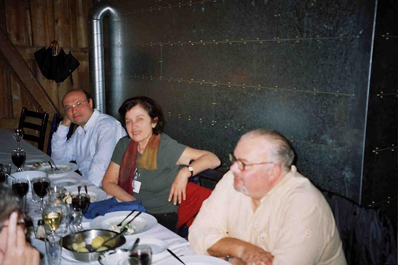 Delegada de Venezuela en el congreso internacional del Pen en Tromso (Noruega), 2004