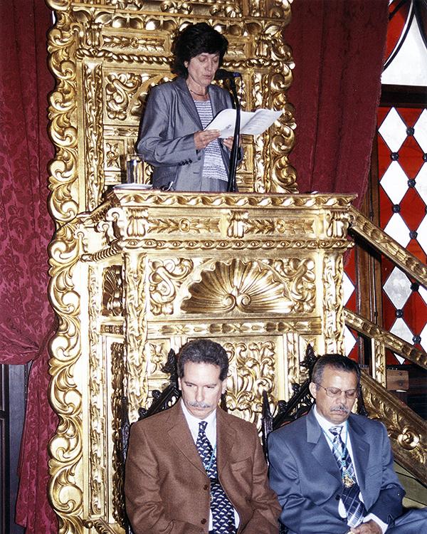 Incorporación a la Academia Venezolana de la Lengua, 2006.