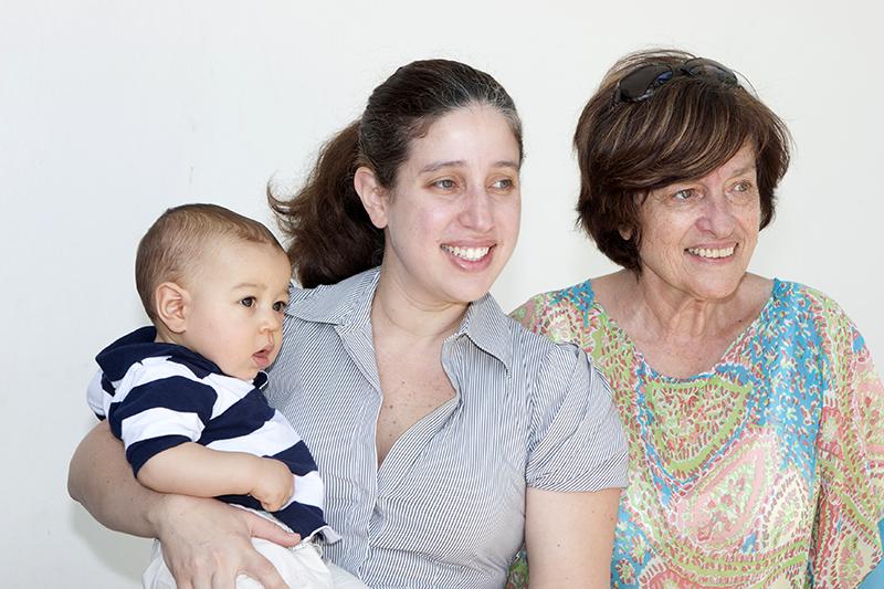 Nacimiento de mi tercer nieto Alejandro, 2013.