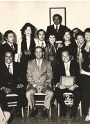 Peñón 1 Graduación del postgrado de Psicología Clínica del Centro de Salud Mental del Este, El Peñón, 1973.