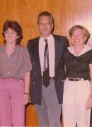 Sociedad Psicoanalitica. Con José Meliá, Carlos Valedón, Alicia Leisse y Rómulo Lander en la junta directiva de la Sociedad Psicoanalítica de Caracas, 1991.