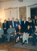 En la residencia de Bellagio (Italia) de la Fundacion Rockefeller, 1999.