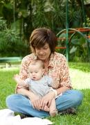 Nacimiento de mi segunda nieta Ana Isabel, 2012.