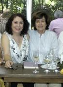 Con Michaelle Ascencio, Edda Armas y Yolanda Pantin. Librería Kalathos en la presentación de un poemario de Edda, 2012.